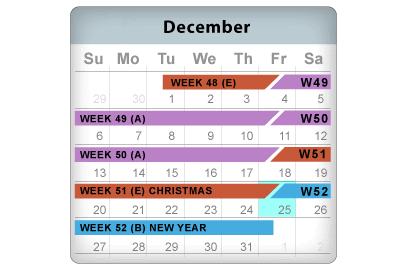 cal-december