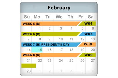 cal-february